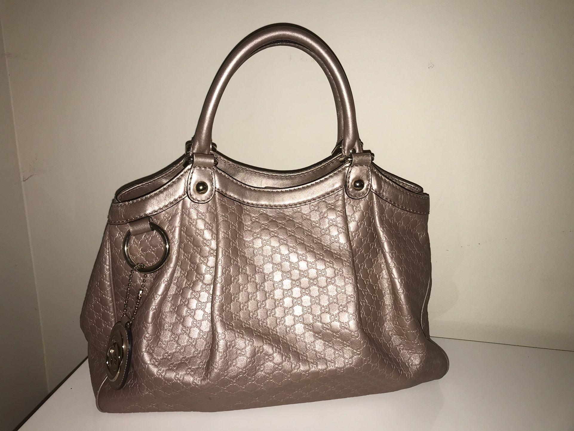 Authentic Gucci Sukey Microguccissima Tote Bag In Like New Condition