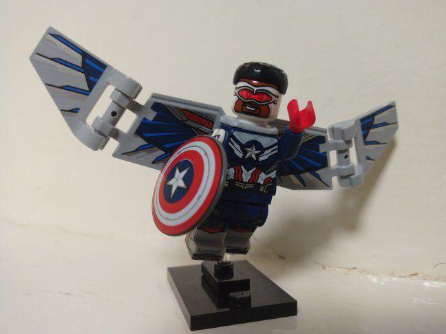 Lego What If Sam Wilson Captain America