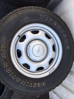 50% tires wheels very nice Thumbnail