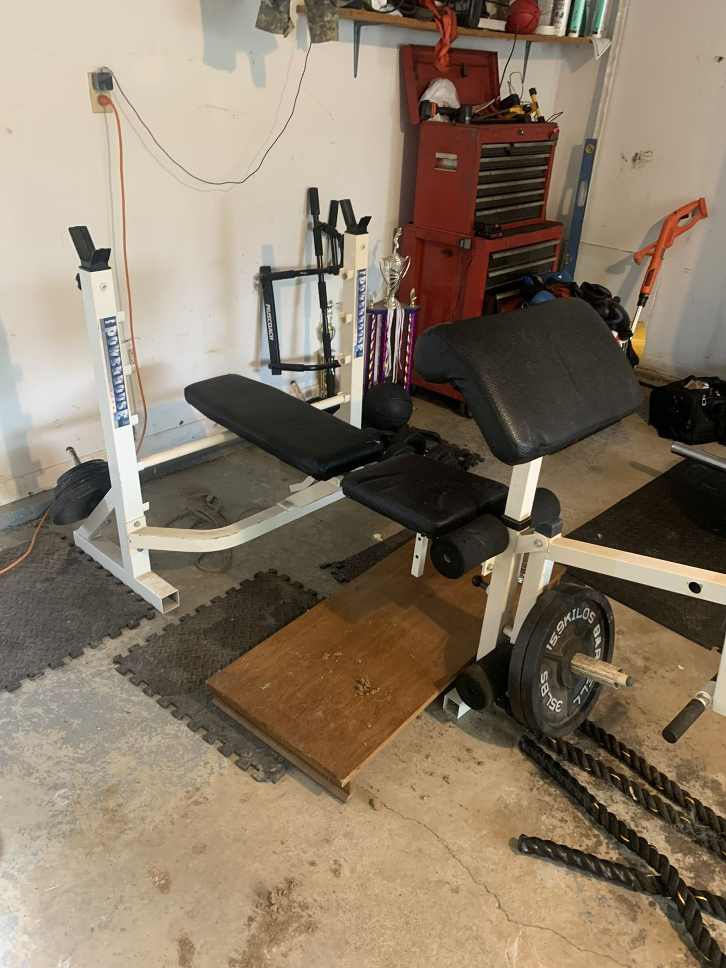 Home Gym For Sale!