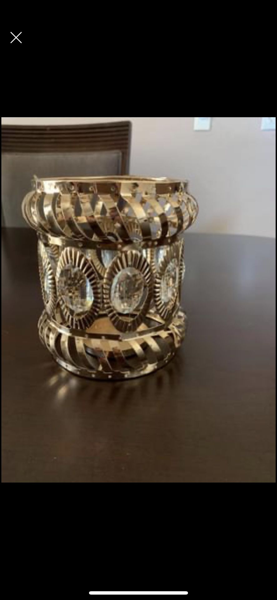 Gold Candle Holder/centerpiece/party Supplies
