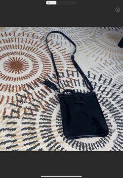Guess croc patent leather crossbody bag Thumbnail