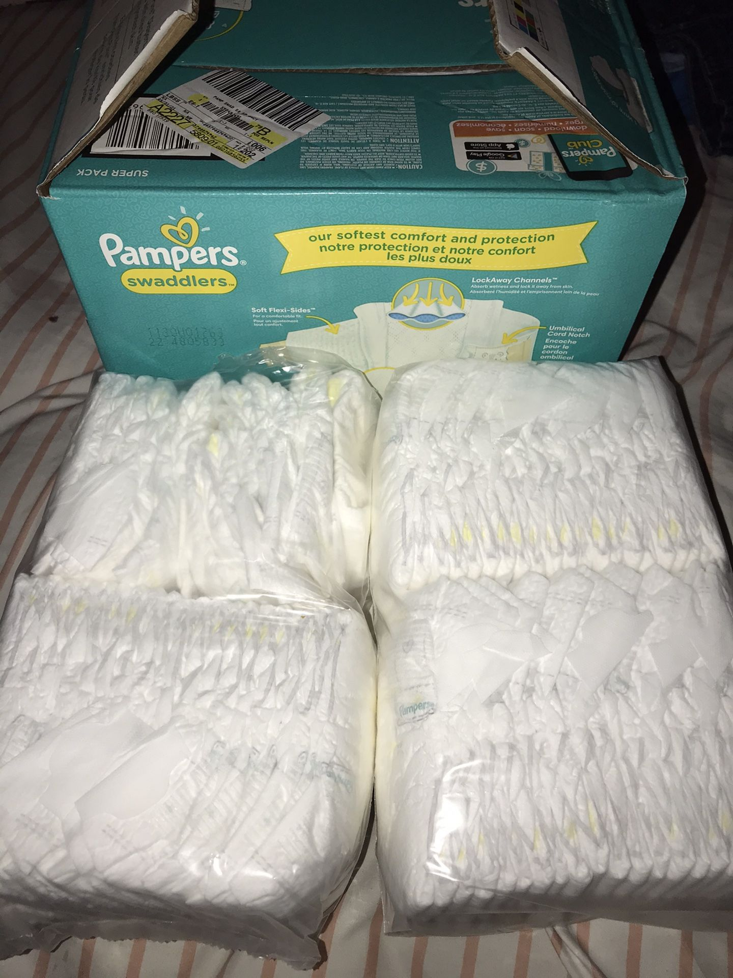New Born Pampers