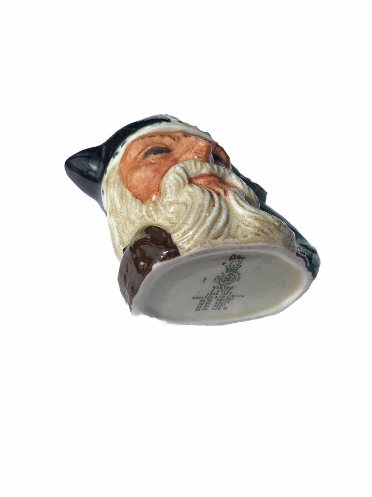Royal Doulton Small Toby Mug Viking #D6502