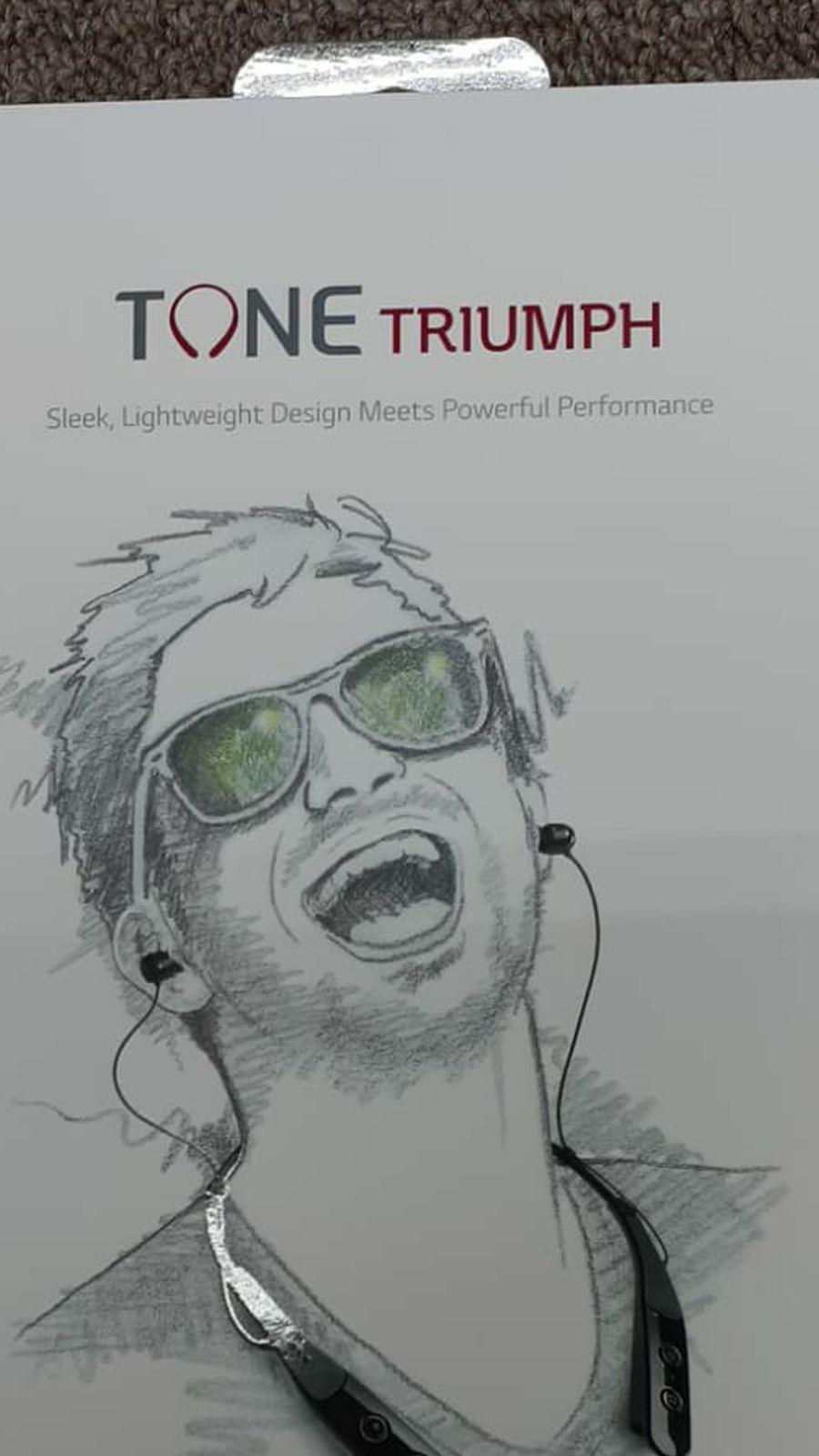 LG Tone Triumph Bluetooth Headset