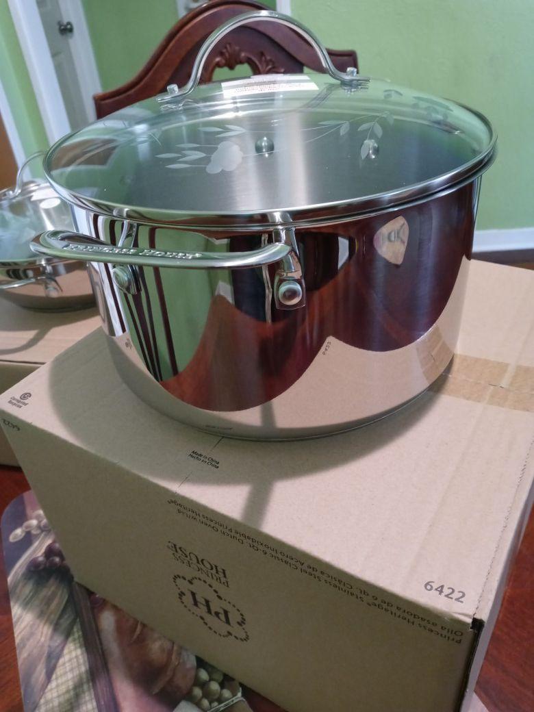 Princess house cookware 6qt