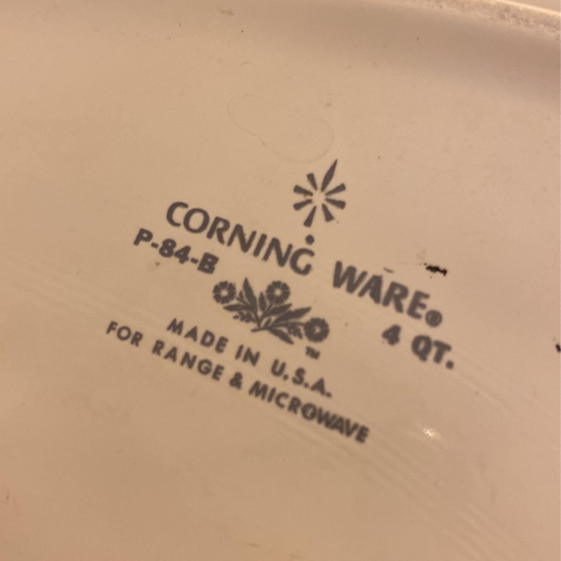 Corningware Set 7 Pieces