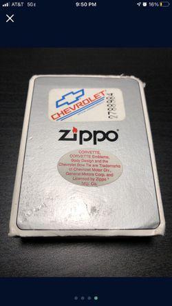 Chevrolet Zippo with Dealership Box Thumbnail