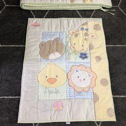 Crib Bumper And Blanket Thumbnail