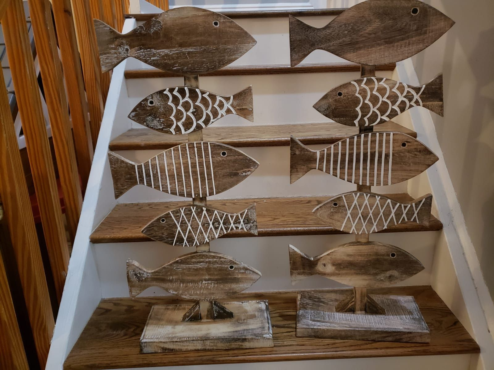Wooden Fish Home Decoration