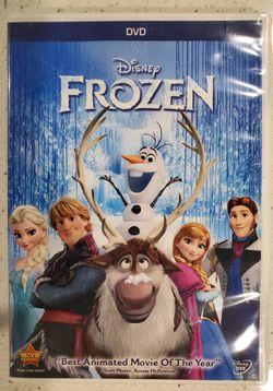 Disney Frozen DVD Thumbnail