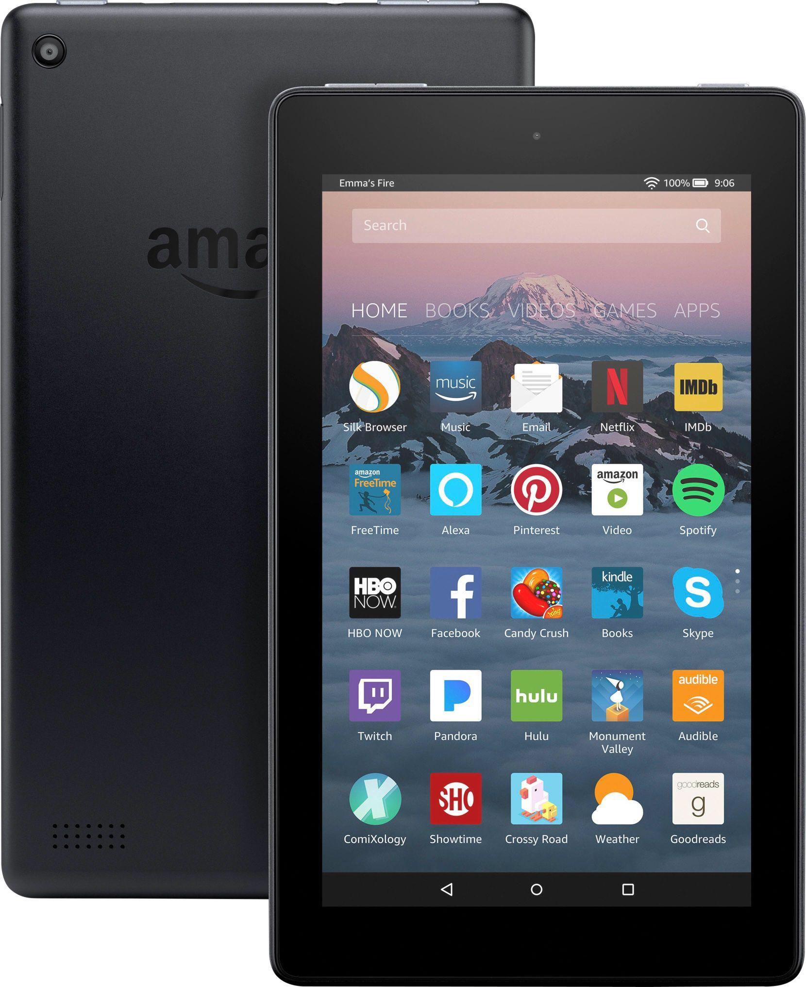 "Amazon - Fire - 7"" - Tablet - 8GB 7th Generation, 2017"