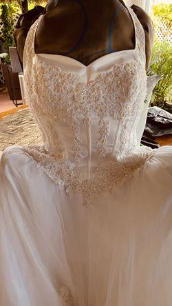 Beautiful WEDDING Or QUINCEÑERA Dress  Thumbnail