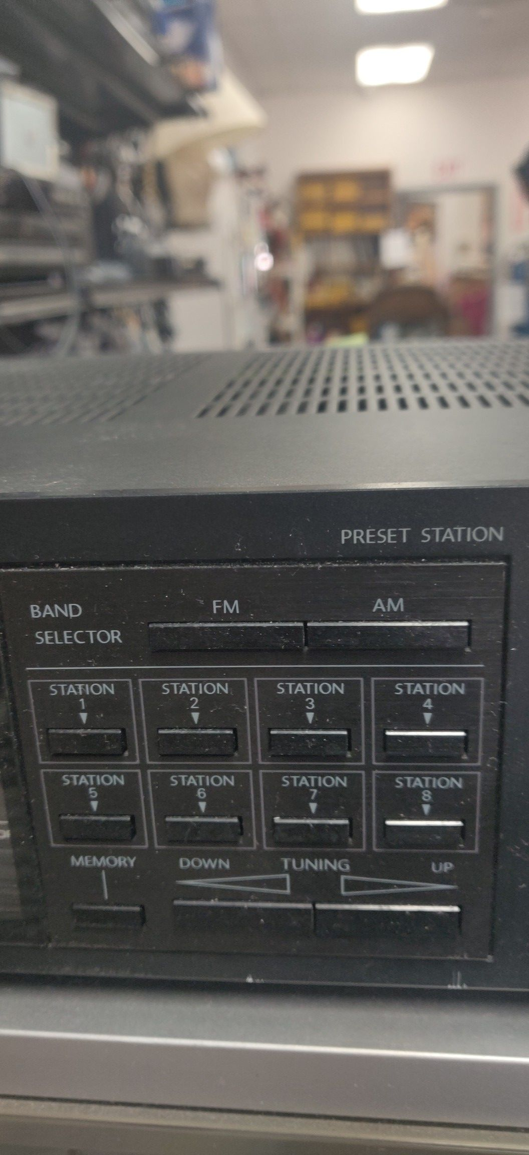 Onkyo synthesized tuner amplifier