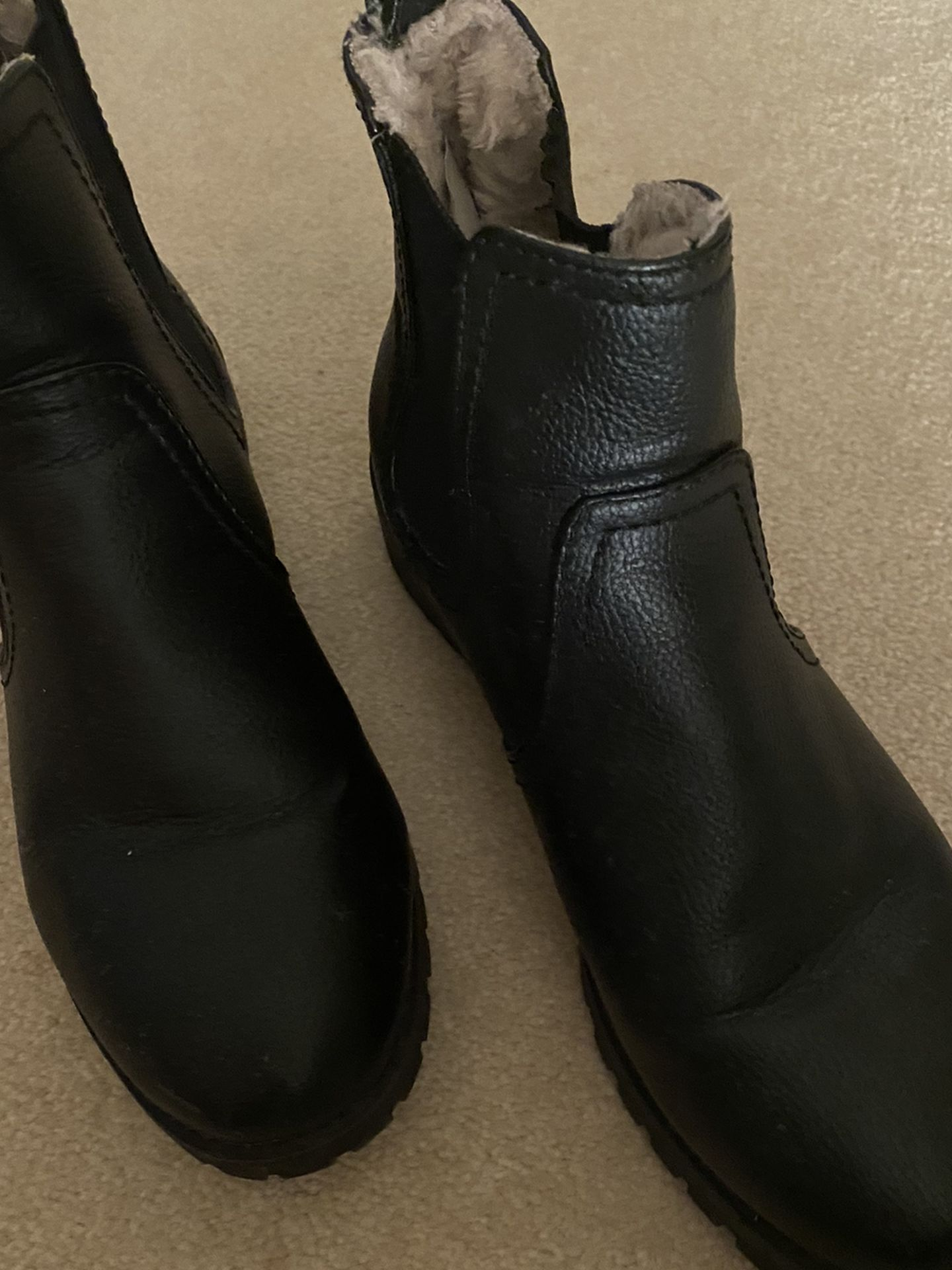 Black Booties For Snow Or Going Out