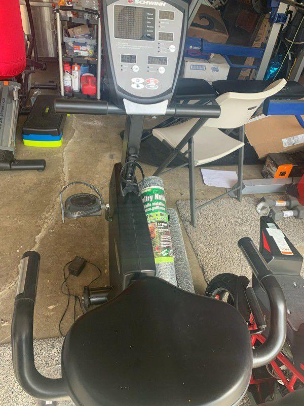 Schwinn Exercise Bike Only Used 3 Times
