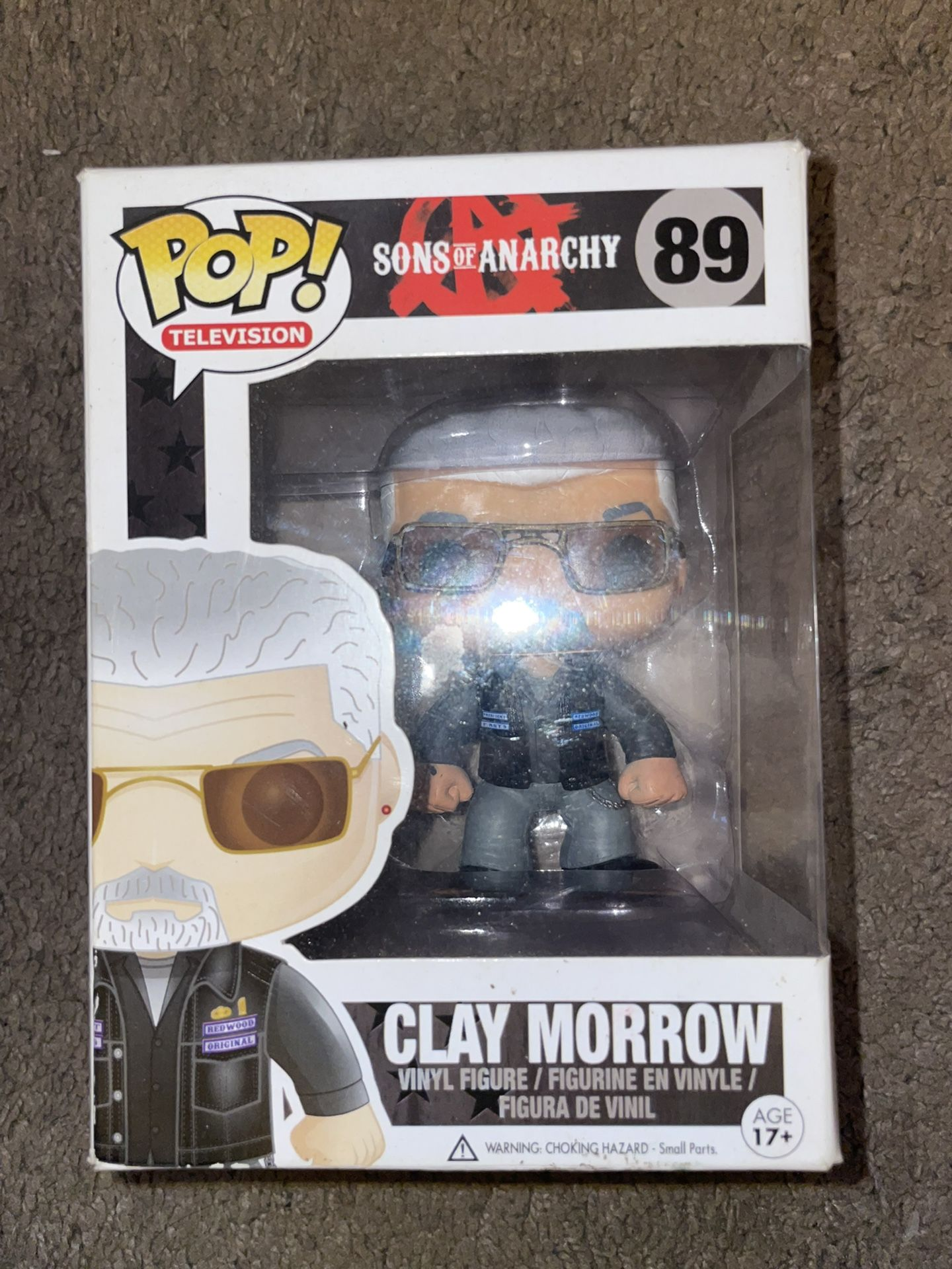 Funko Pop Sons Of Anarchy Clay Morrow 89 Vaulted