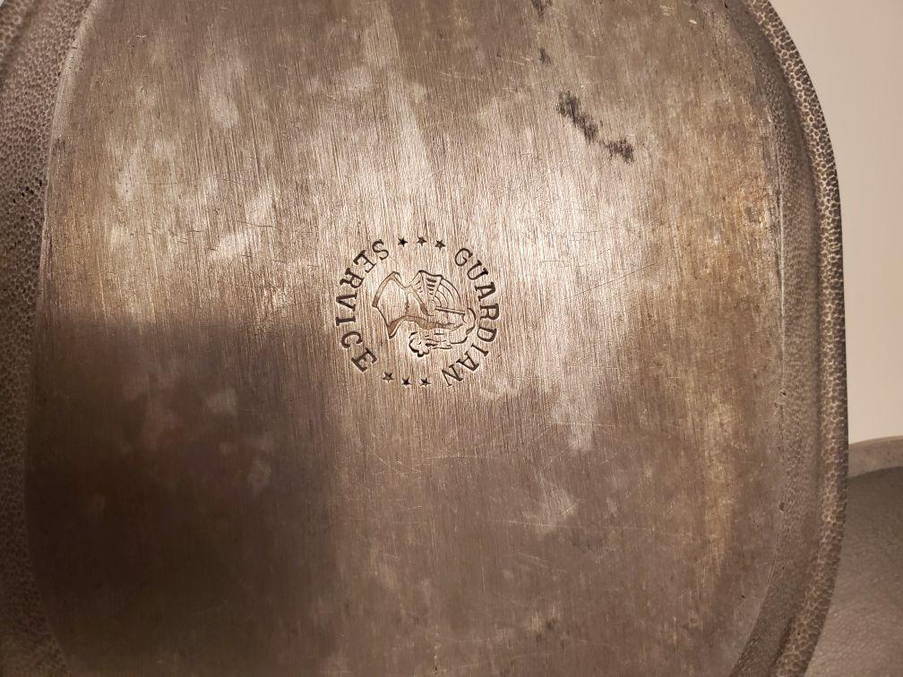 2 Vintage Aluminum Service General cookware