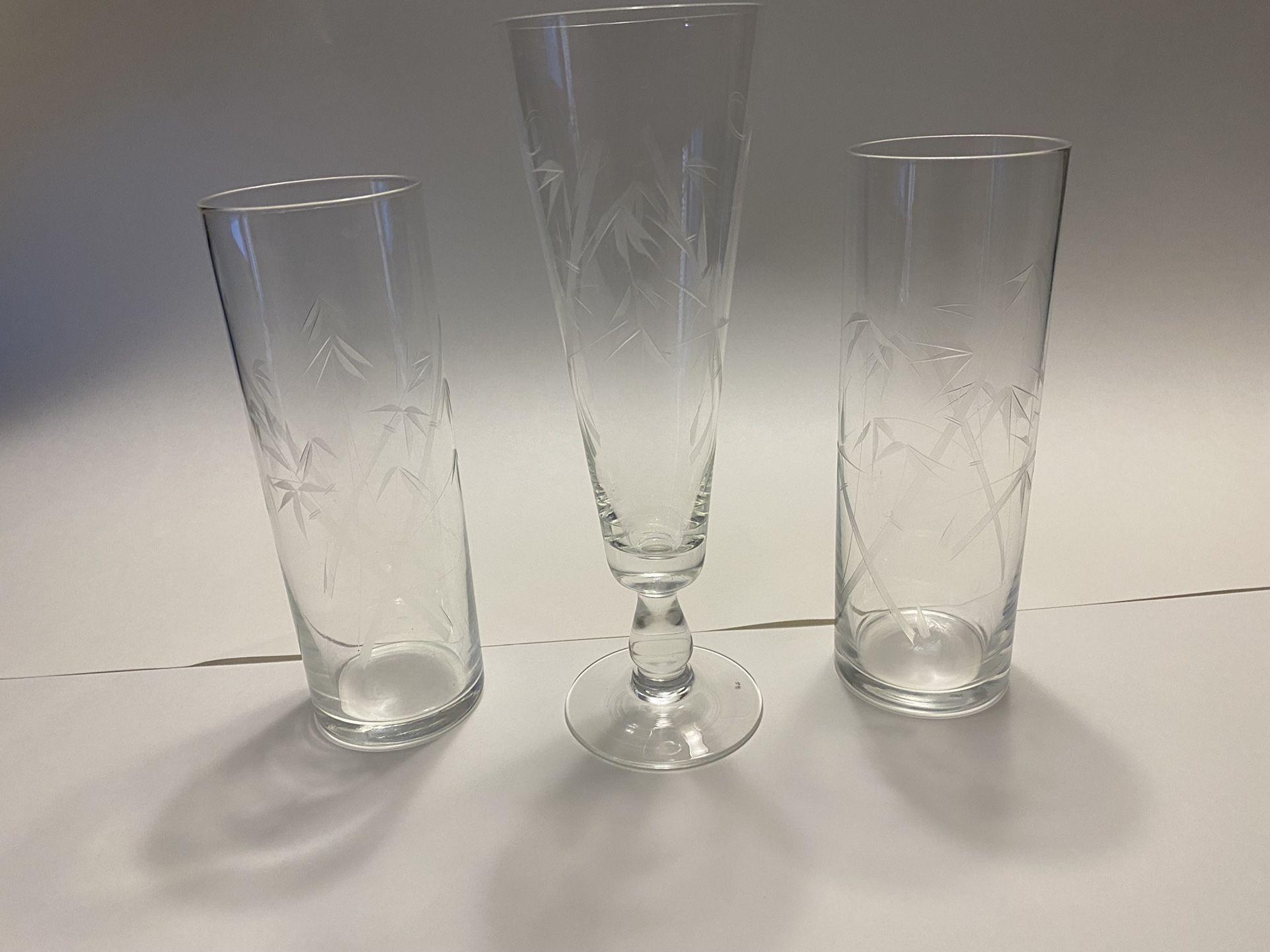 Noritake Crystal (3PCS) Collection