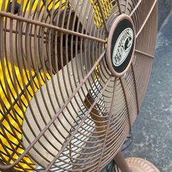 Hampton Bay  Pedestal Vintage Fan. Has Speed Settings And Oscillating. Thumbnail