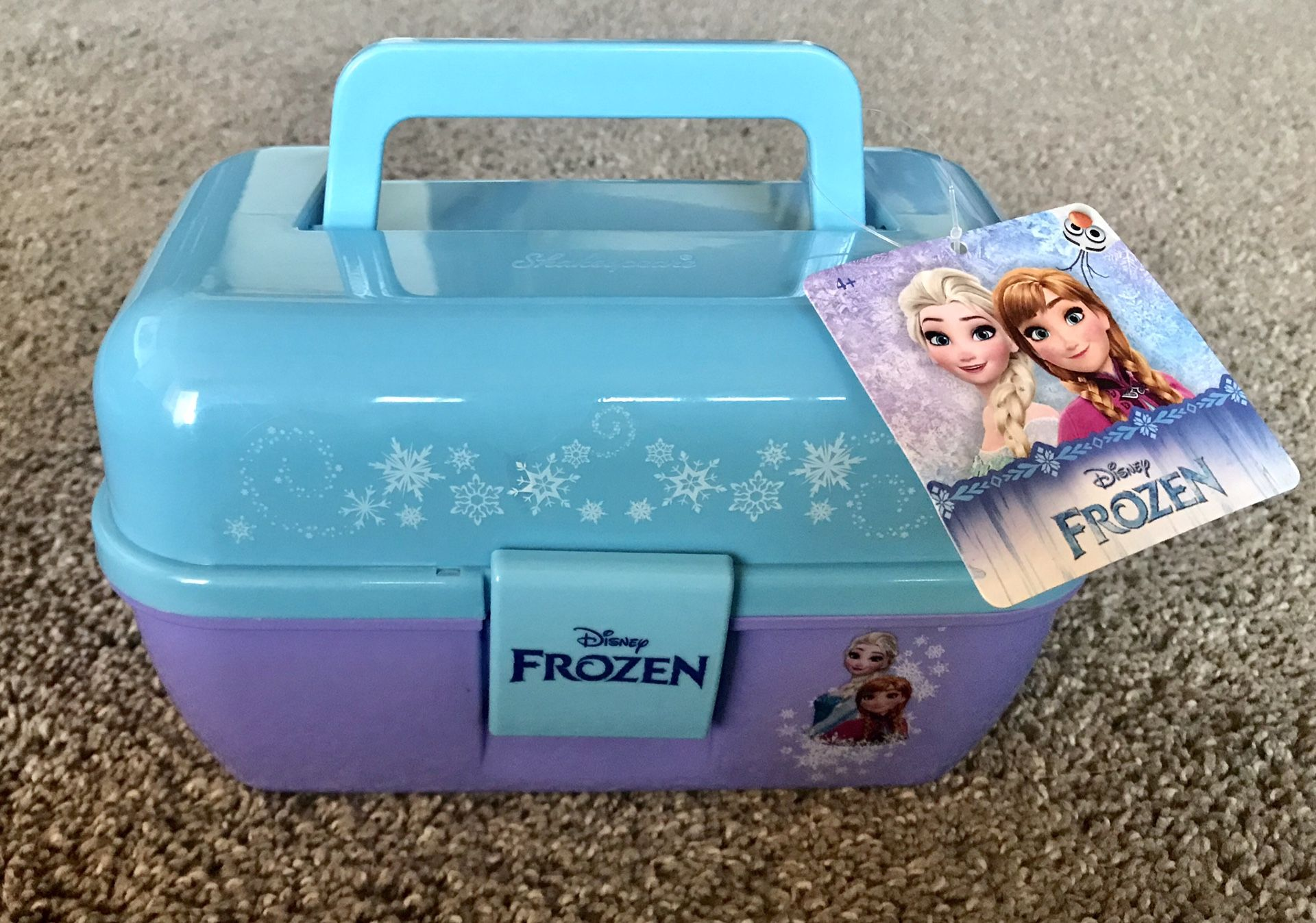 Disney Frozen Tackle Box Caboodle play box