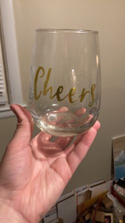 Cheers Stemless Wine Glasses  Thumbnail