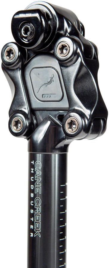 Cane Creek Thudbuster ST Suspension Seatpost - 31.6 x 375mm, 50mm, Black