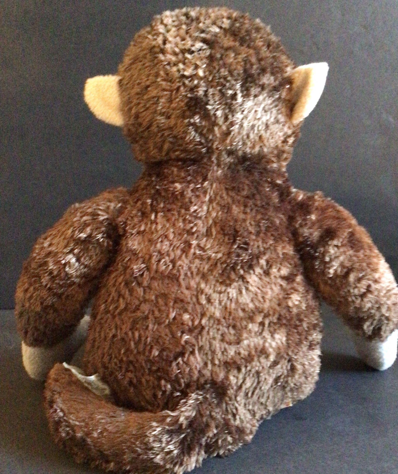 Vintage Build A Bear Monkey Stuffed Animal Toy