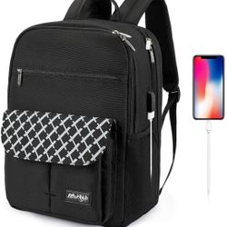 Waterproof Backpack Travel College Bookbags Fits 15.6 inch  Thumbnail