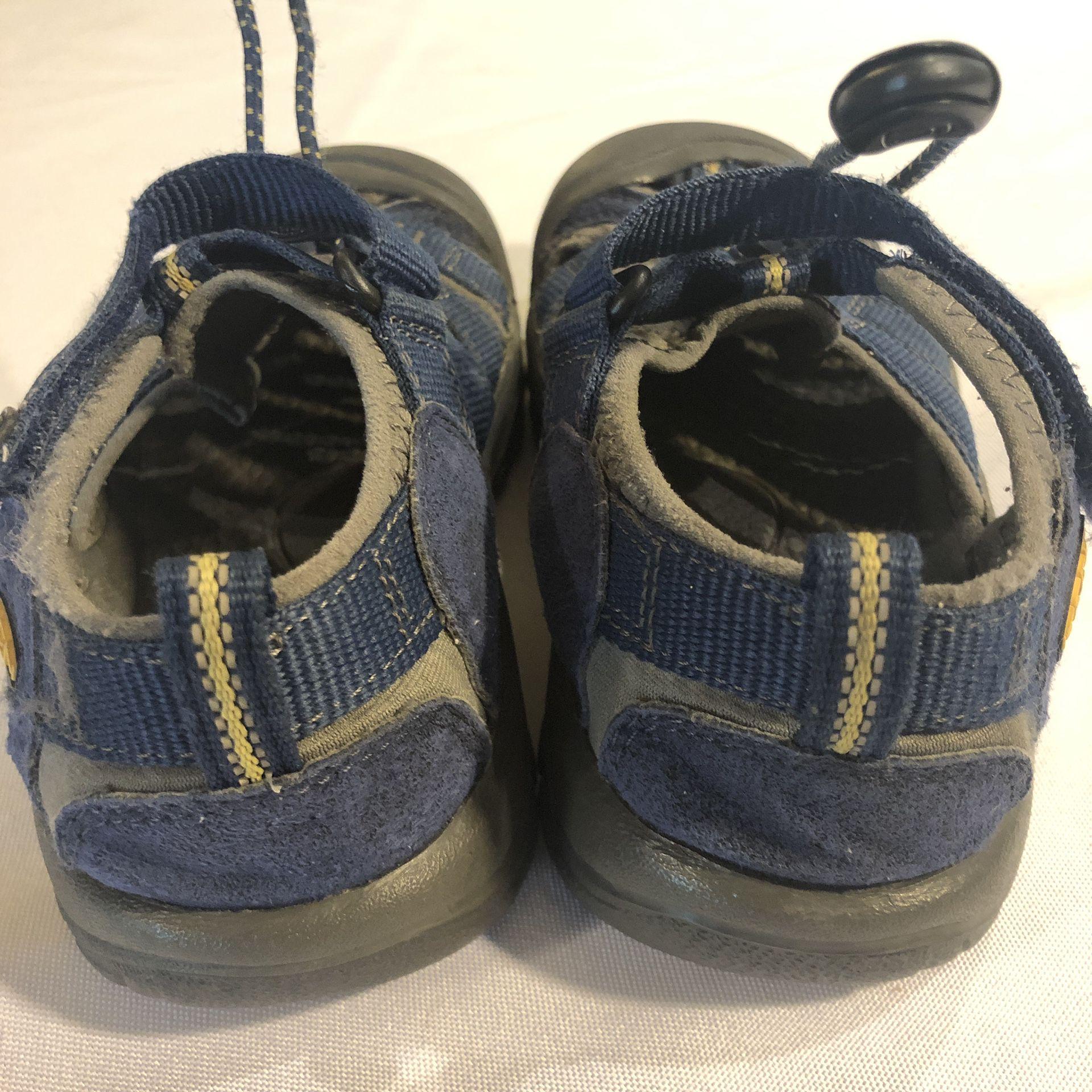 Keen Newport H2 Youth Kids Outdoor Waterproof Hiking Sandal Size 13 Navy Blue