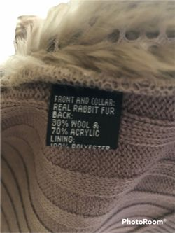 Seeu Rabbit Fur Vest Thumbnail