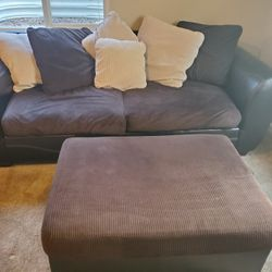 Couch Ottoman and Oversized chair Thumbnail