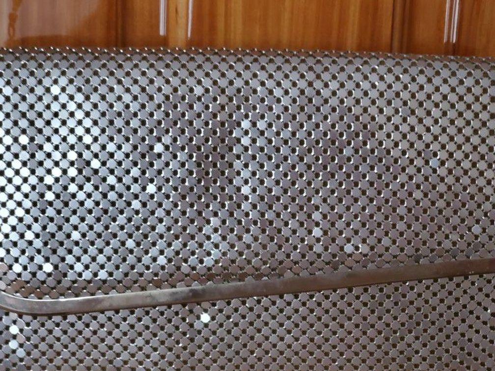 "SilverShade CrystalMetal Mesh Roll Evening Bag Clutch Purse Shoulder& chain strapMagnetic closure Metal Mesh Roll Evening Bag Clutch Purse (W10"""