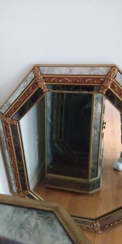 Living Room Cabinet with Mirror Thumbnail