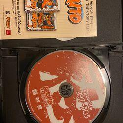 NARUTO SHIPPUDEN (24&25) 4 DISCS SET Thumbnail