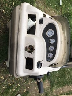 Pontoon Boat seats, Console,  and Bench's $500 OBO Thumbnail