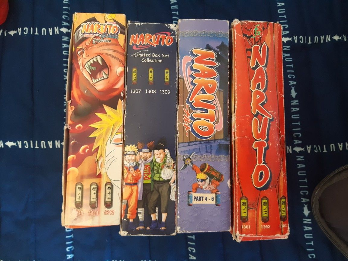 Naruto full series and shippuden ep 1 - 69 and four movies