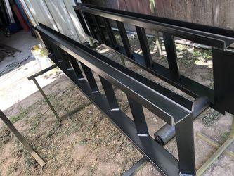 Pair Heavy-Duty Steel Loading Ramps for Hotshot/Flatbed/Gooseneck Trailer Thumbnail