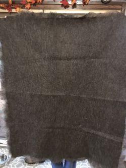 Alpaca Felted Blanket Throw Thumbnail