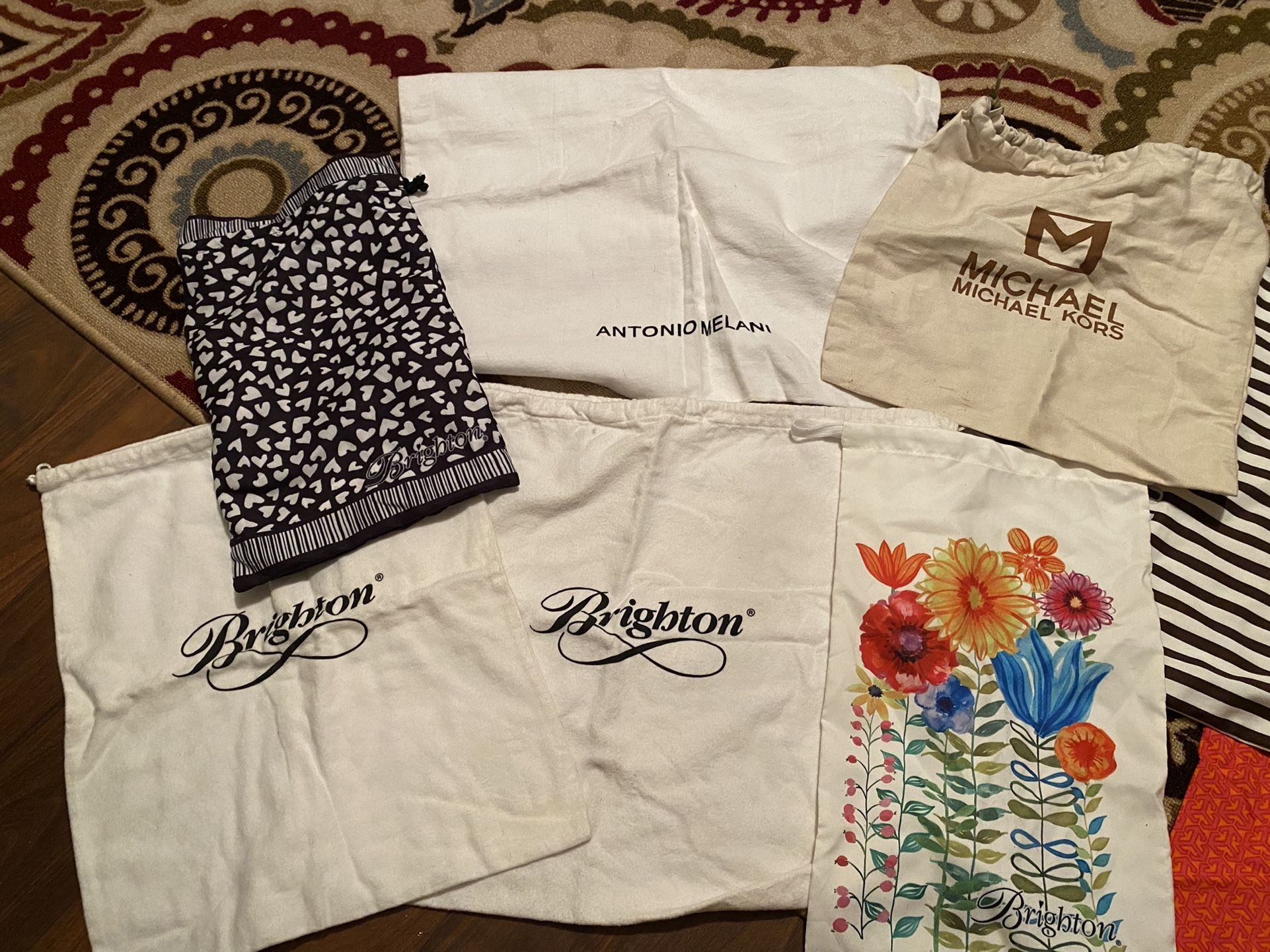Brighton Chanel Patricia Nash Michael Kors etc. Dust  bags