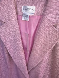 Chadwicks Pink Womns Blazer  NWT 14 Thumbnail