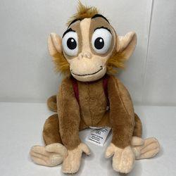 Vintage Disney Store Exclusive Abu Plush Monkey Aladdin Fasteners Hands And Feet Thumbnail