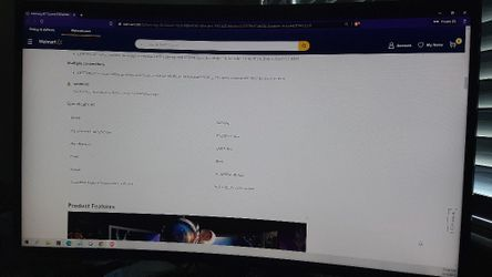 Samsung 32inches Curved FHD Monitor : Shoot me an offer  Thumbnail