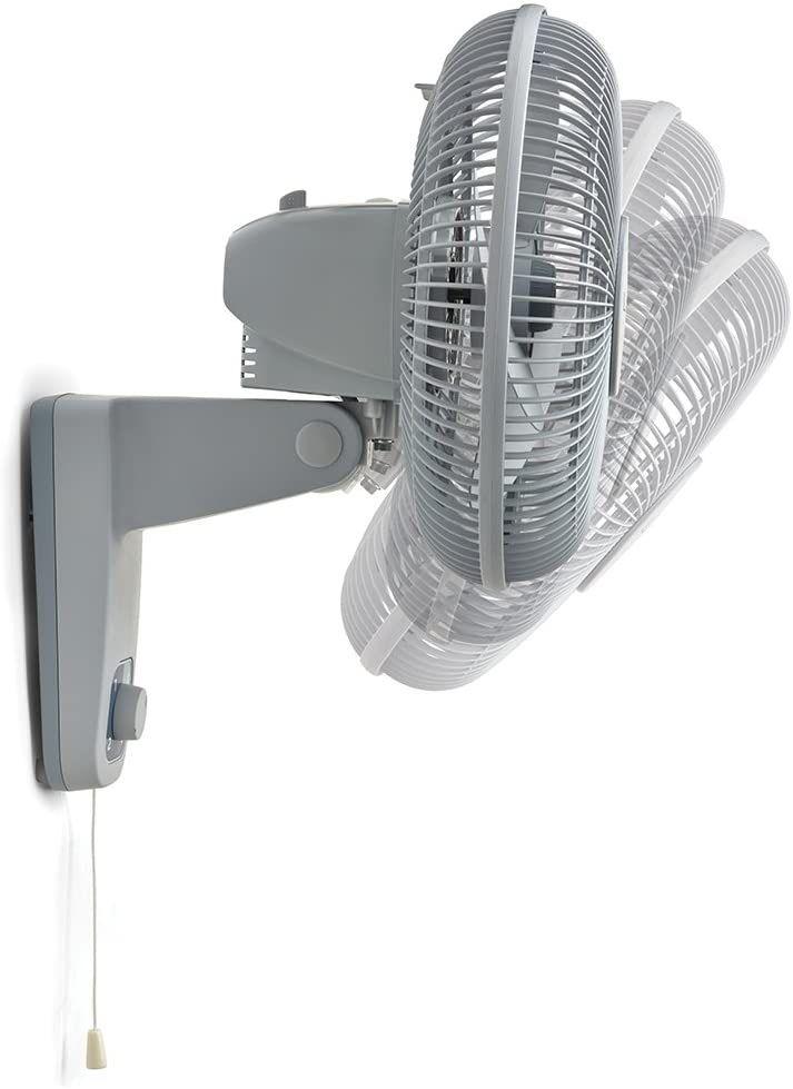 Lasko Oscillating 12' inch Wall Mount Fan for Indoor Use