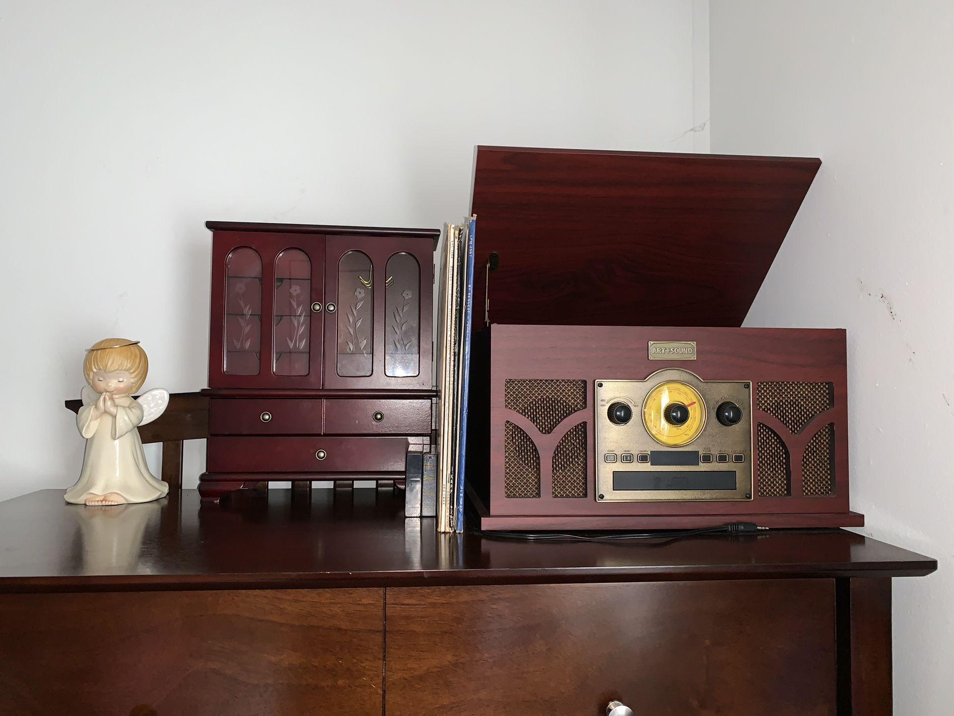 brown jewelry box
