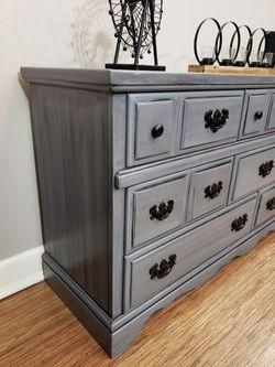 Beautiful hand painted dresser Thumbnail
